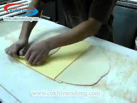 Máy cán bột bánh bao