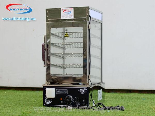 tủ trưng bày và giữ nóng bánh bao (1)