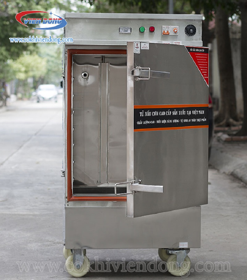 tủ hấp công nghiệp bằng điện Việt Nam