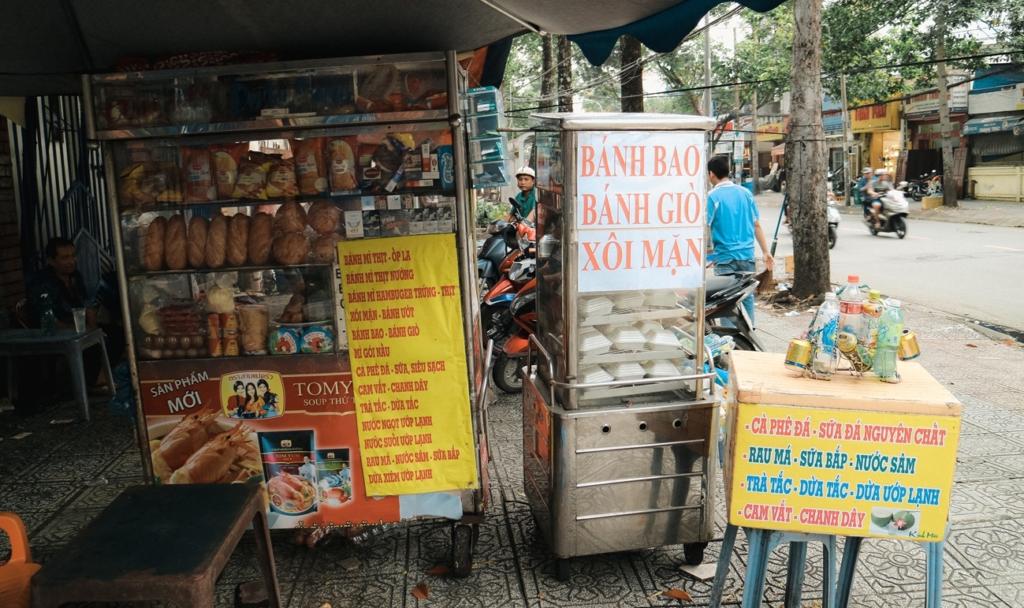 Kinh nghiệm bán bánh bao