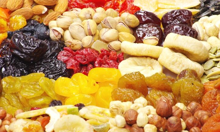 Nhiệt độ sấy khô của hoa quả, rau củ