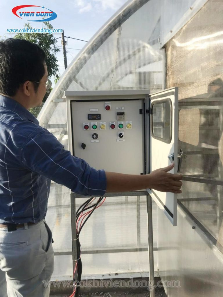 Máy sấy năng lượng mặt trời tiết kiệm, không phụ thuộc vào thời tiết