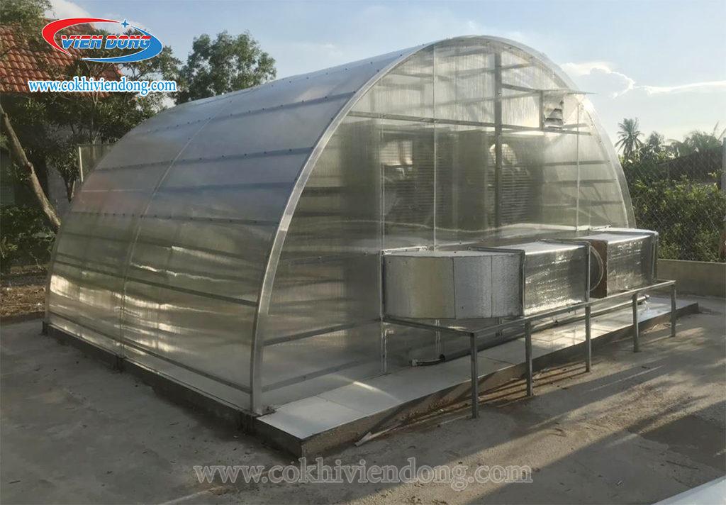 Nhà sấy thuốc bắc năng lượng mặt trời