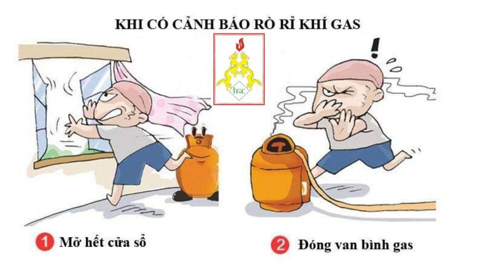 làm gì khi phát hiện rò rỉ gas
