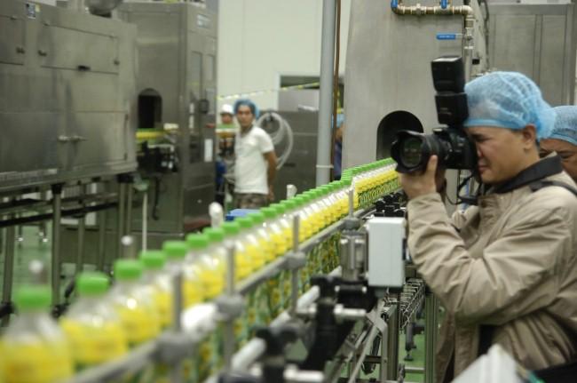 Sử dụng dây chuyền sản xuất cho cơ sở lớn
