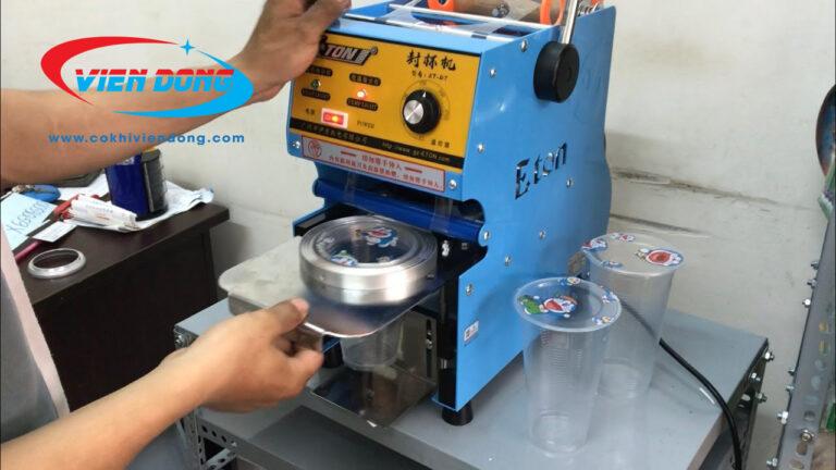Cấu tạo của máy ép ly nước mía eton D7 như thế nào?