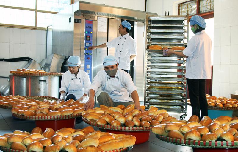 Những chi phí cho sản xuất bánh mì