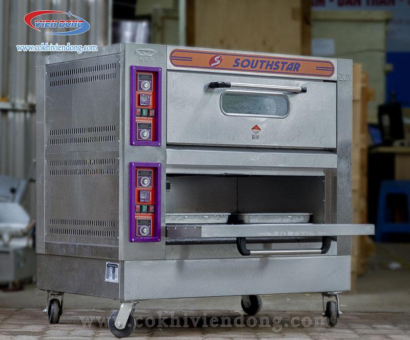 Lò nướng bánh 2 tầng 4 khay Southstar
